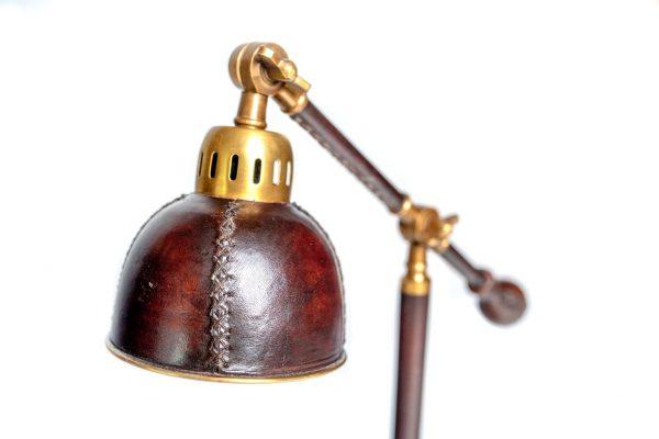 lampa skórzana