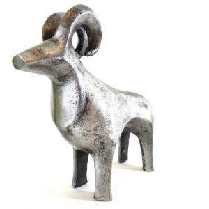 Baran - znak zodiaku - figurka aluminiowa