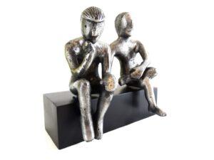 Bliźnięta - znak zodiaku - figurka aluminiowa - 1