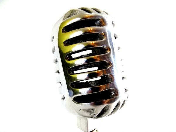 Mikrofon - model aluminium - 1