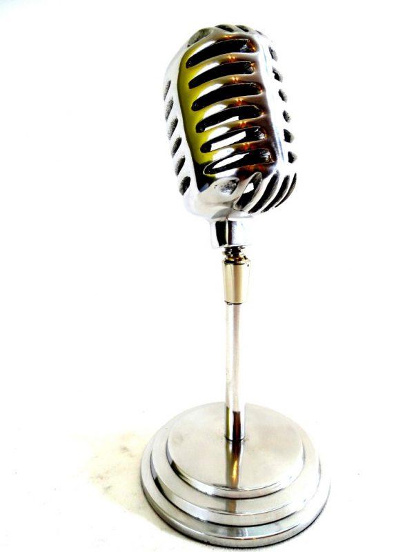 Mikrofon - model aluminium