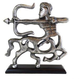 Strzelec - znak zodiaku - figurka aluminiowa