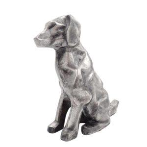Metalowa figurka pies
