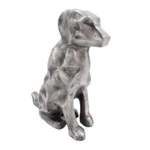 pies figurka aluminiowa
