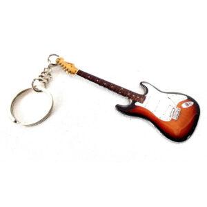 Brelok żywicowo-stalowy – gitara J. Hendrix