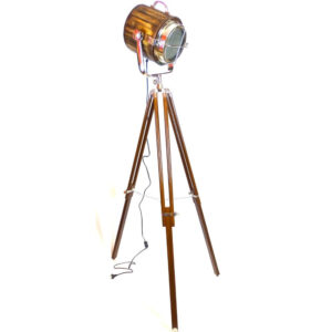 Reflektor drewniany na trójnogu Marco