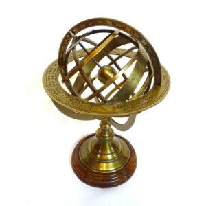 astrolabium mosiężne 28cm