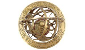 astrolabium od góry