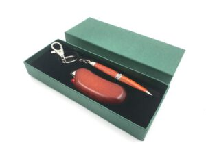 Zapalniczka i długopis - zestaw prezentowy